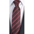 sehr schmal 6.5cm - Luigi di Bartolomeo® Krawatten / Luxus- Seidenkrawatte, 100% Handgenäht, inkl. Seidensäcklein